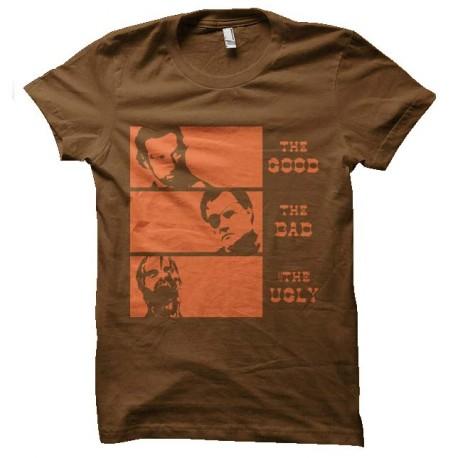 tee shirt walking dead le bon la brute et le truand