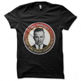 tee shirt john dillinger fbi enemy public