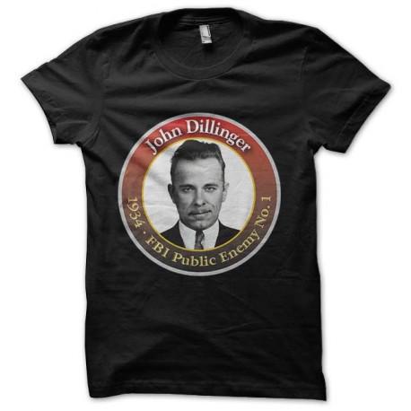 tee shirt john dillinger fbi enemy public