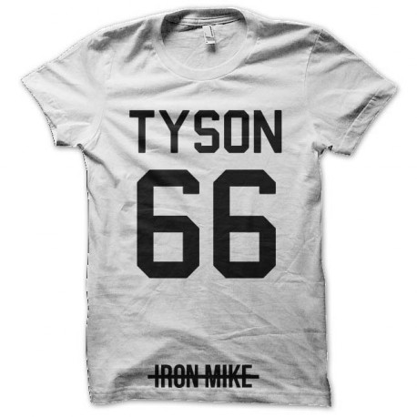 tee shirt tyson 66 iron man