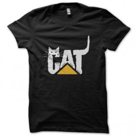 tee shirt cat parodie caterpillar