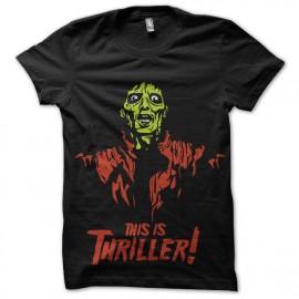 tee shirt mickael jackson thriller