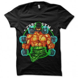 tee shirt one piece zoro gym