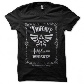 tee shirt triforce hylian alcool zelda