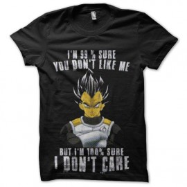 tee shirt vegeta dragon ball 99 to 100