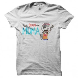 tee shirt cerveau vs mdma