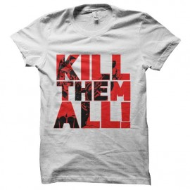 tee shirt walking dead daryl kill them all