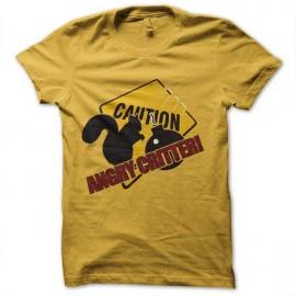 tee shirt angry critter