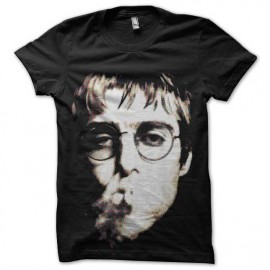 tee shirt liam gallagher portrait oasis