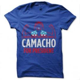 tee shirt camacho president idiocraty