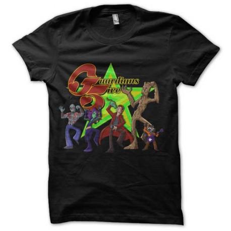 tee shirt guardians five disco