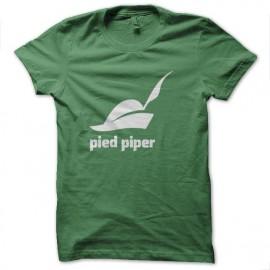 tee shirt pied piper nouveau logo silicon valley