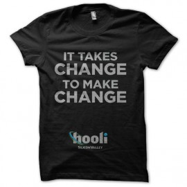 tee shirt silicon valley hooli changement slogan