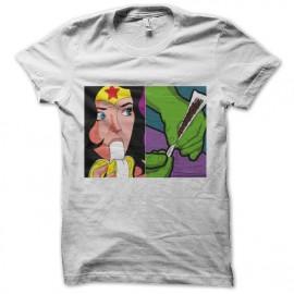 tee shirt super hero salacieux break down