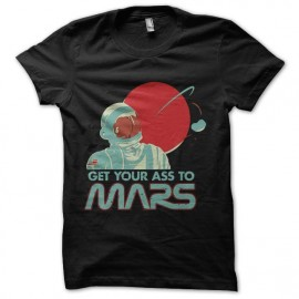 tee shirt voyage sur mars humour