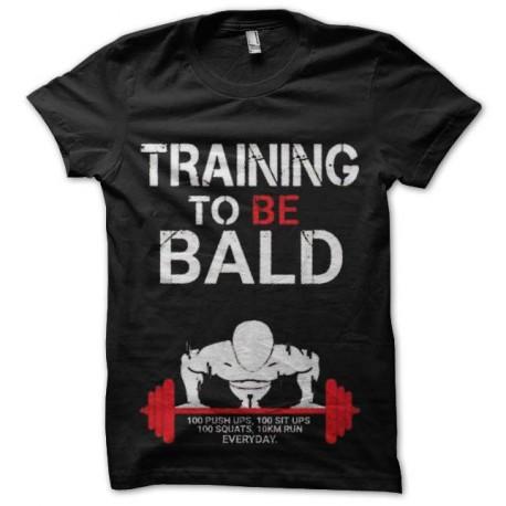 tee shirt training to be bald krilin dragon ball