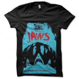 tee shirt jaws trame les dents de la mer