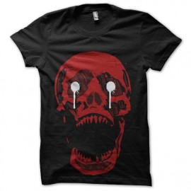 tee shirt red skull horror show