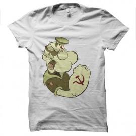 tee shirt popeye communiste