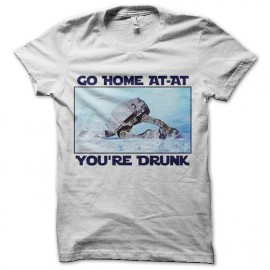 tee shirt at-at drunk star wars