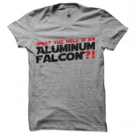 tee shirt star wars falcon aluminium