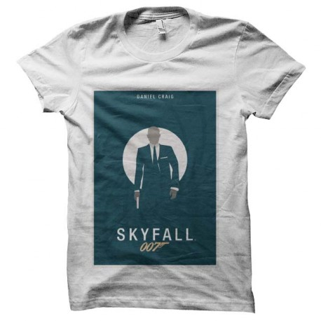 tee shirt skyfall james bond