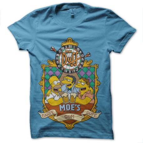 tee shirt simpsons duff moe s taverne