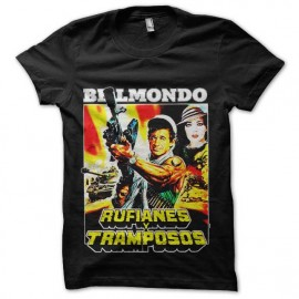 tee shirt les morfalous belmondo version italie
