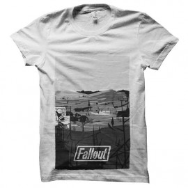 tee shirt fallout westland vectoriel