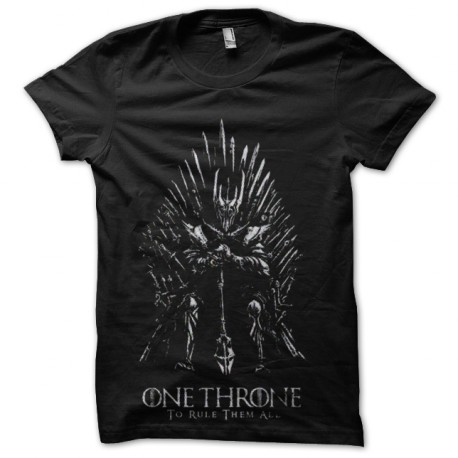tee shirt game of thrones one throne