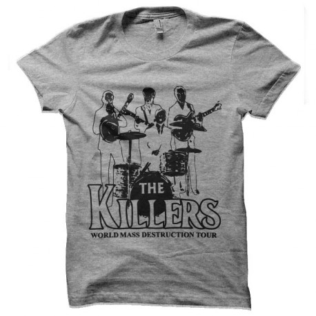 tee shirt the killers destructeurs en masse