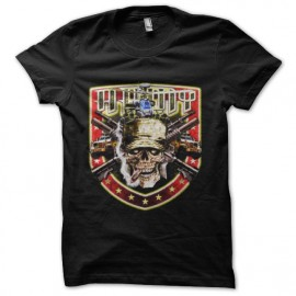 tee shirt skull marines us army