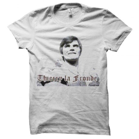 tee shirt thierry la fronde trame