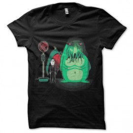 tee shirt h.p. lovecraft et sa creature