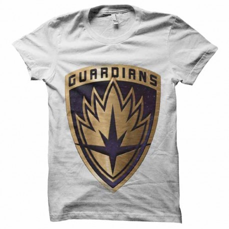 tee shirt les guardiens de la galaxie logo