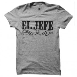 tee shirt el jeffe mexicain gangster