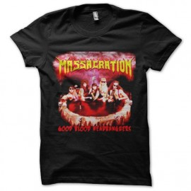 tee shirt massacration vintage rock