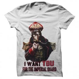 tee shirt garde imperial recrutement