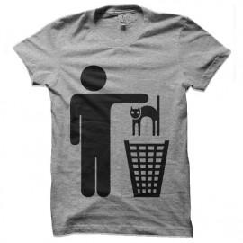 tee shirt nettoyer les chats