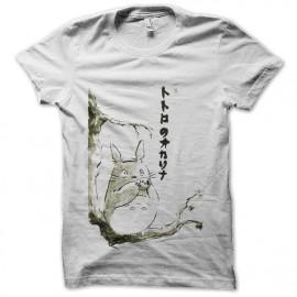 tee shirt totoro flutiste