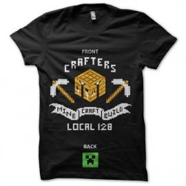 tee shirt minecraft mineur winner