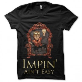 tee shirt tyron lannister alcoolique