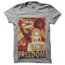 tee shirt khaleesi acquarelle game of thrones