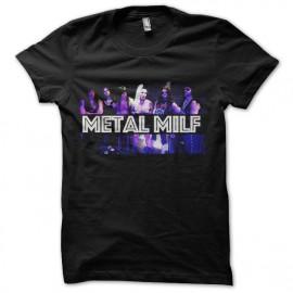 tee shirt metal milf hard rock