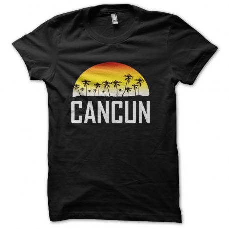 tee shirt cancun mexique