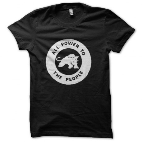 tee shirt black panther logo