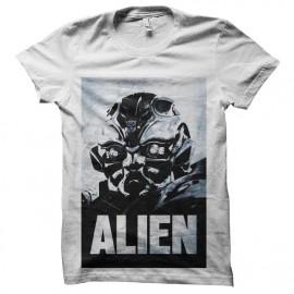 tee shirt alien poster transformer