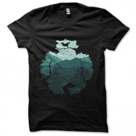 tee shirt chasseur savane