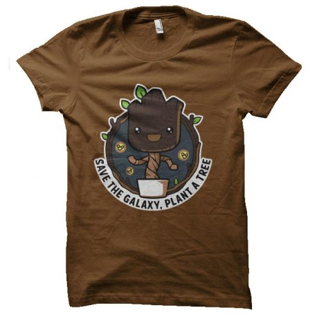 tee shirt save the galaxy groot