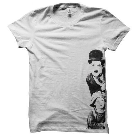 tee shirt charlie chaplin trame
